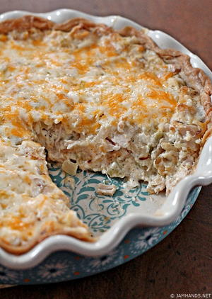 Hot Chicken Salad Pie