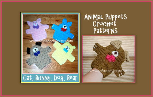 Animal Puppets 4 Styles