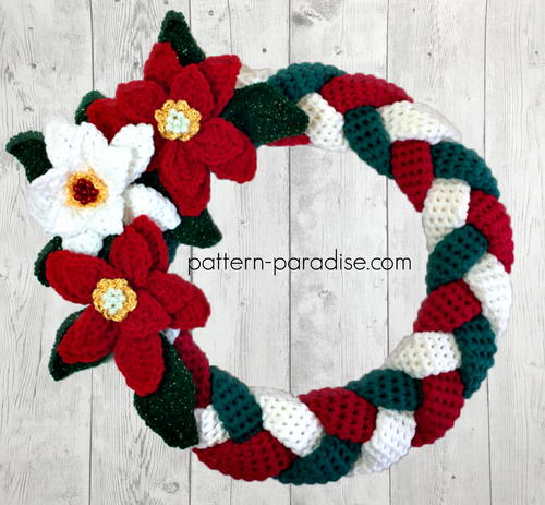 Braided Christmas Wreath