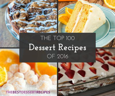 The Top 100 Dessert Recipes of 2016