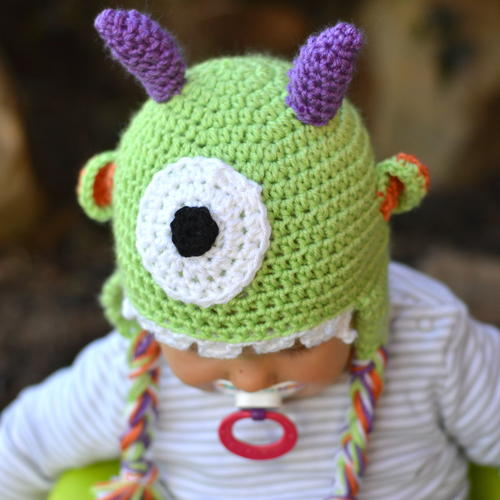 Littlest Monster Hat