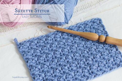 Crochet The Suzette Stitch | AllFreeCrochet com