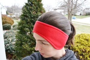 Fleece Ear Warmer Headband Pattern