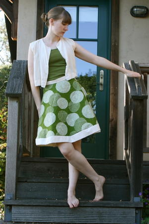 Flora and Fauna Skirt Tutorial