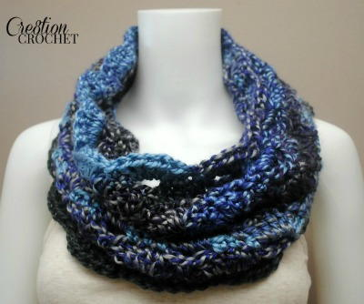 Bring the Glamour Crochet Cowl