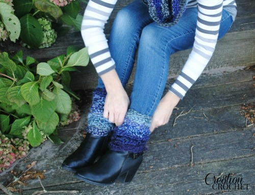 Cozy Crochet Boot Cuffs