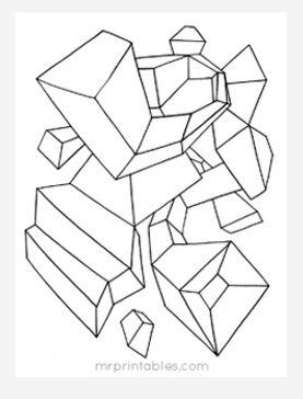 Abstract Coloring Page No 6