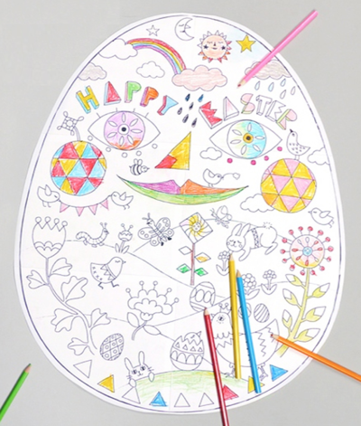 Egg-Cellent Easter Printable Coloring Pages
