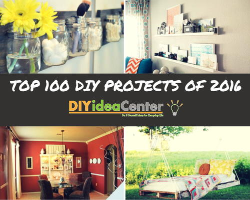 Top 100 DIY Projects of 2016: DIY Home Decor, Home Improvement ...