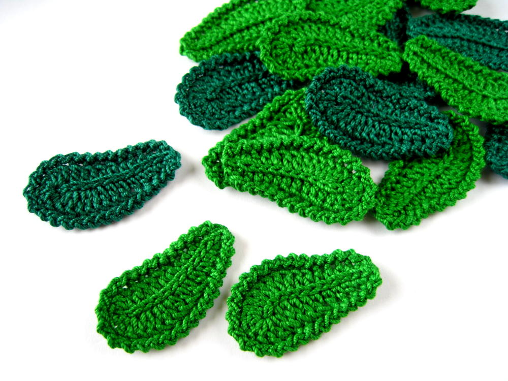 Crochet Leaf Irish Lace Motif | AllFreeCrochet.com