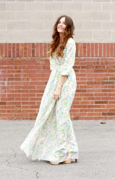 8536ec14044 Peasant DIY Maxi Dress