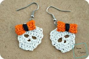 Sally Skulls Earrings
