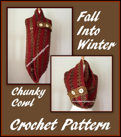 Fall Into Winter Chunky Cowl