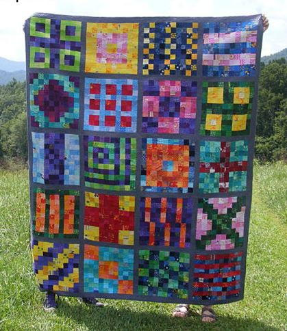 Controlled Chaos Free Quilt Pattern