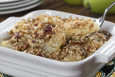 Crispy Pear Bake