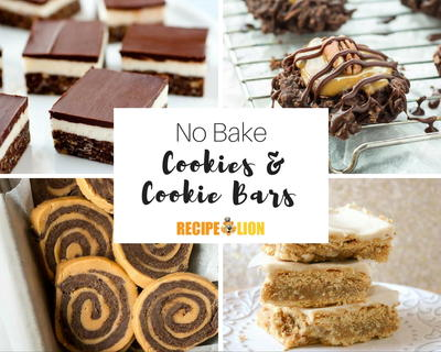 21 Lazy No Bake Cookie Recipes and Cookie Bar Recipes