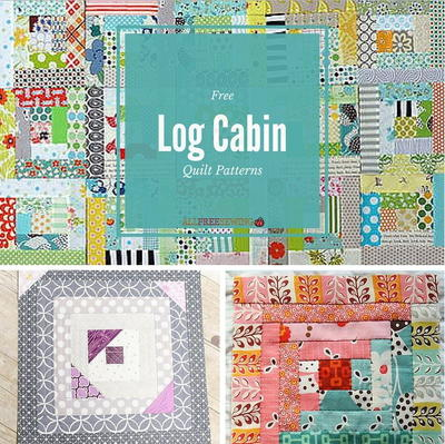 37 Free Log Cabin Quilt Patterns