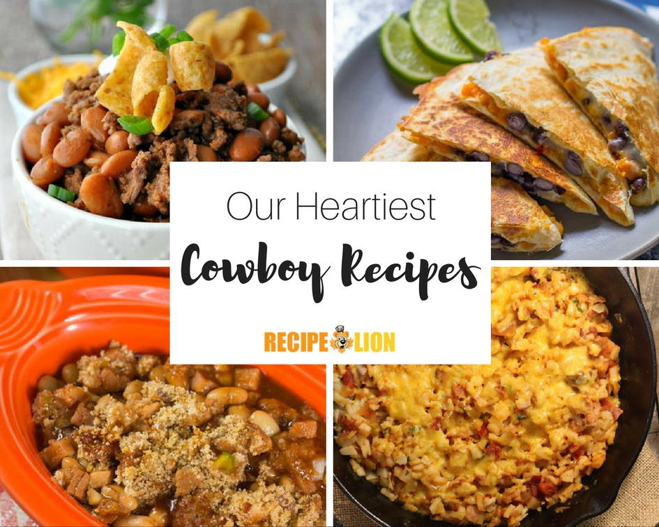 Country Western Food Recipes For Dessert