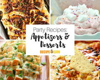 33 Appetizer Party Recipes and Easy Dessert Recipes