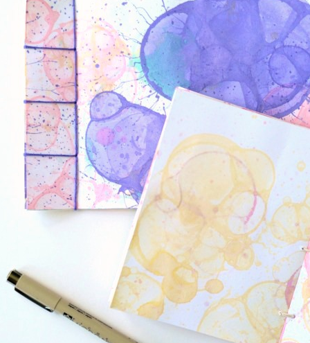 Bubble Art DIY Journal