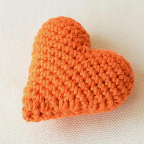 Quick And Easy Crochet Heart Allfreecrochetcom