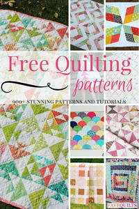 900+ Free Quilting Patterns