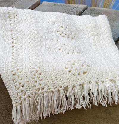 Free Crochet Bobble Stitch Afghan Patterns : 58 Crochet Afghan Patterns Using the Popcorn Stitch ...