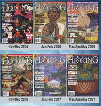 2001-2009 Issues of Rug Hooking Magazine
