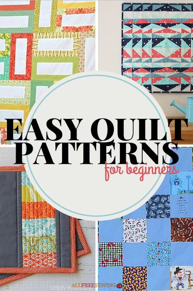 Easy Beginner Makeup Tutorial: 45+ Easy Quilt Patterns For Beginners