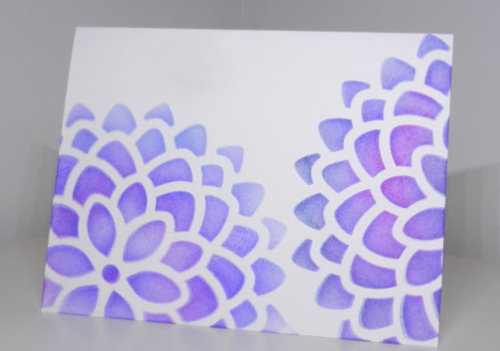 Fabulous Floral DIY Greeting Card