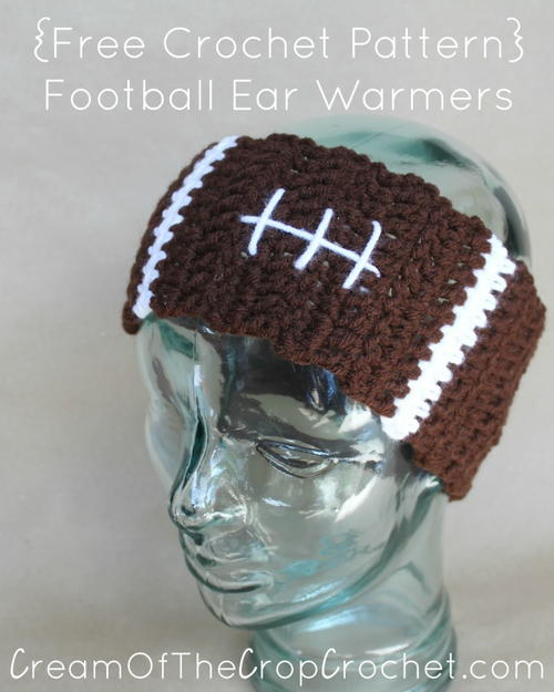 Football Ear Warmers