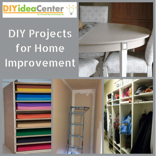 Home Diy: 34 DIY Projects For Home Improvement