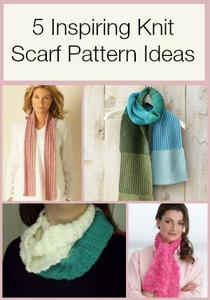 5 Inspiring Knit Scarf Pattern Ideas