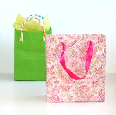 Quick and Easy DIY Gift Bags