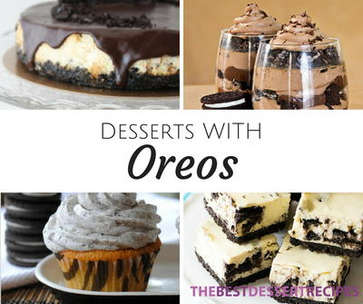 38 Recipes with Oreos