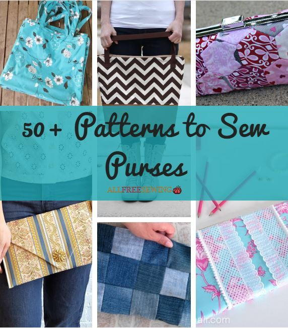 50 Patterns To Sew Purses Allfreesewing Com