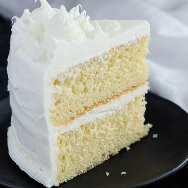 Basic Vanilla Cake Favesouthernrecipes Com