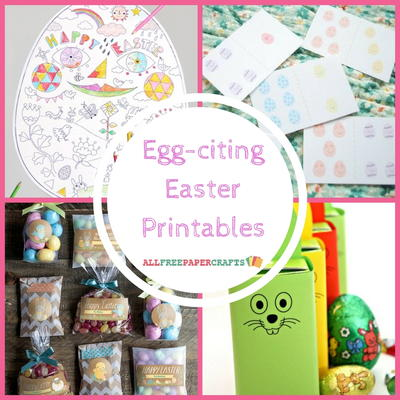 Egg-citing Easter Printables