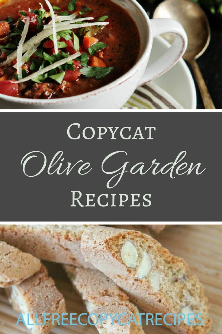 30 olive garden copycat recipes - What kind of soup does olive garden have ...