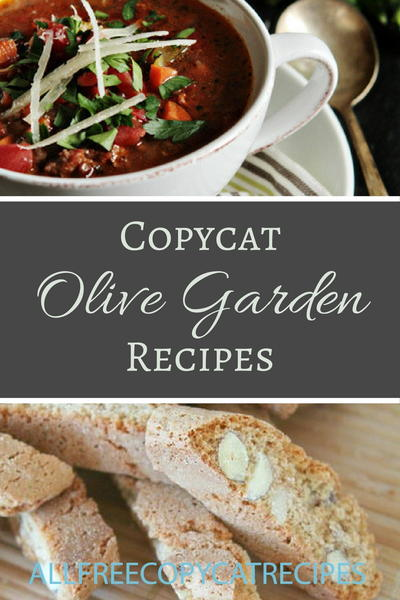 30 Copycat Olive Garden Recipes
