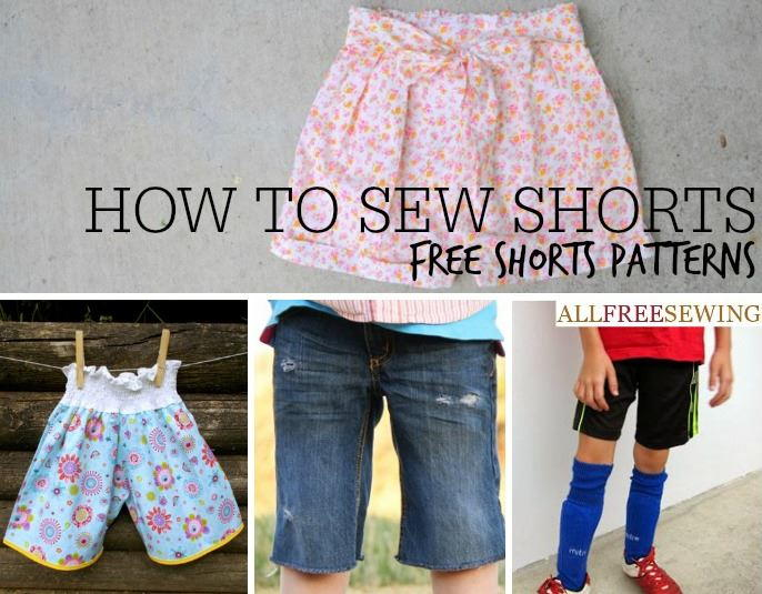40+ Free Shorts Patterns (to Sew) | AllFreeSewing com
