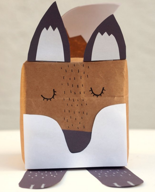Fabulous Fox DIY Gift Box