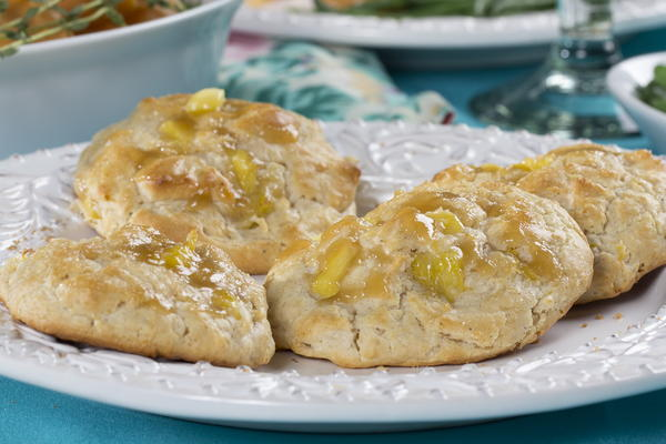 Pineapple Drop Biscuits