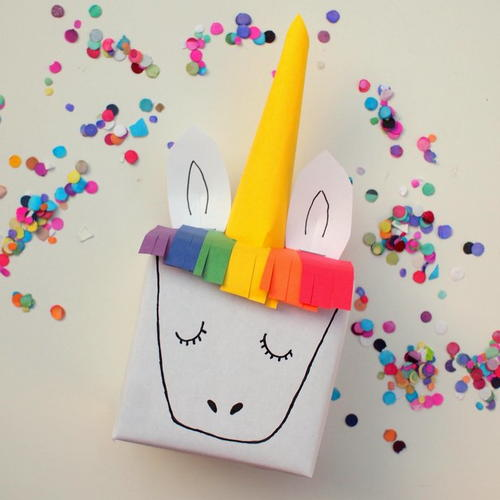 Whimsical Unicorn DIY Gift Box