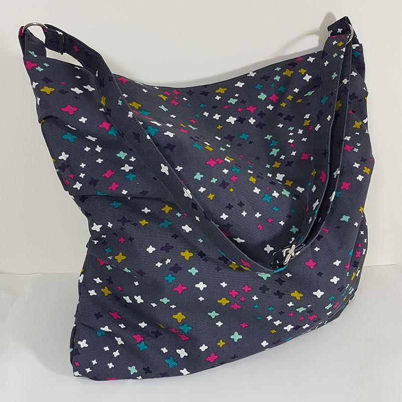 One Yard Slouchy Bag Pattern Allfreesewing Com
