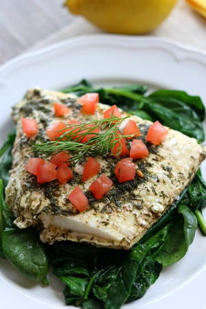 Slow Cooker Lemon Dill Halibut