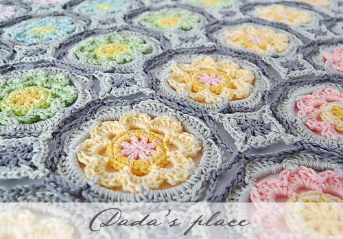 Secret Garden Crochet Granny Circle Allfreecrochetcom