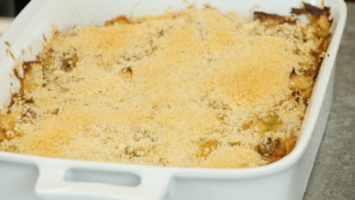 Terrific Turkey Cabbage Bake