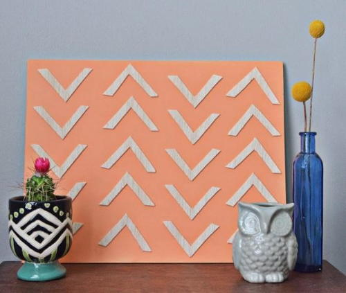 Quirky Wooden DIY Wall Art