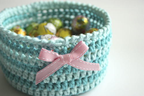 Too Pretty Crochet Basket